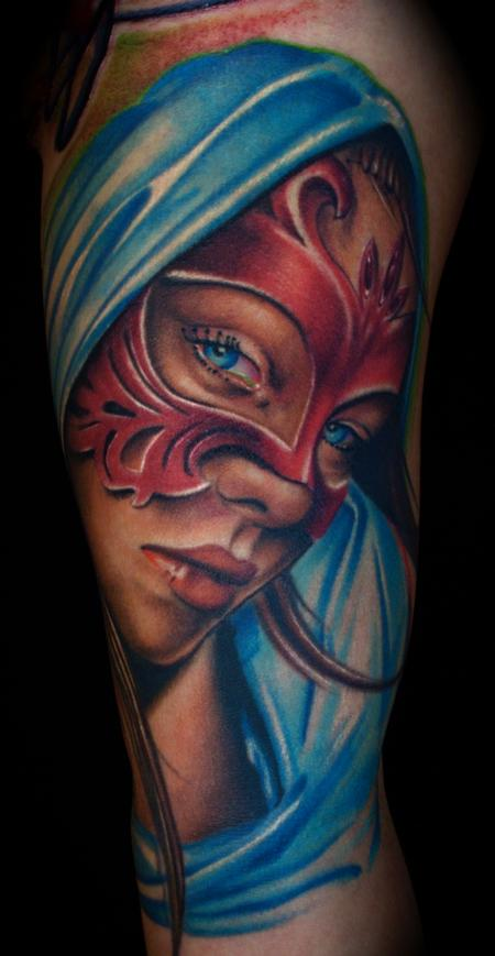 Brent Olson - Girl Portrait Tattoo